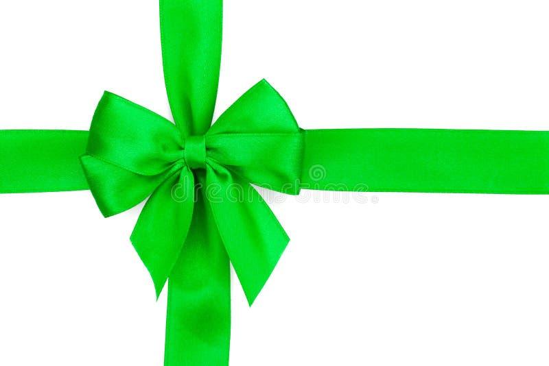 Fita verde com curva imagens de stock royalty free