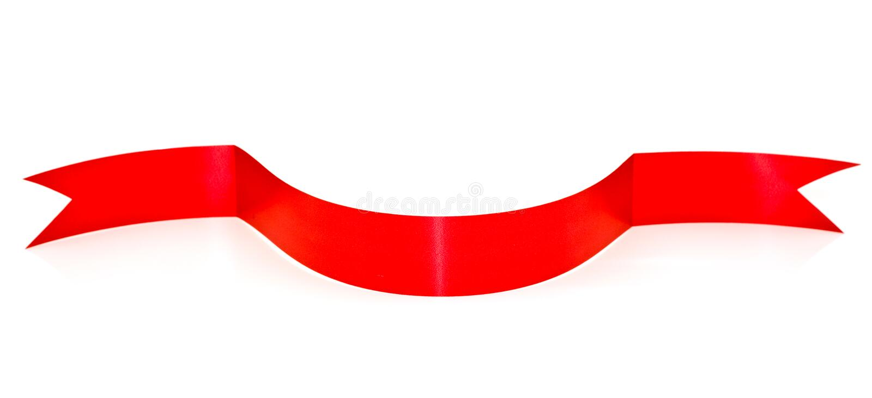 Download Fita vermelha curvada foto de stock. Imagem de projeto - 12800022