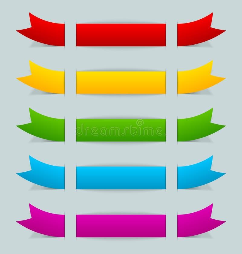 Download Fitas coloridas ilustração do vetor. Ilustração de caso - 26510607