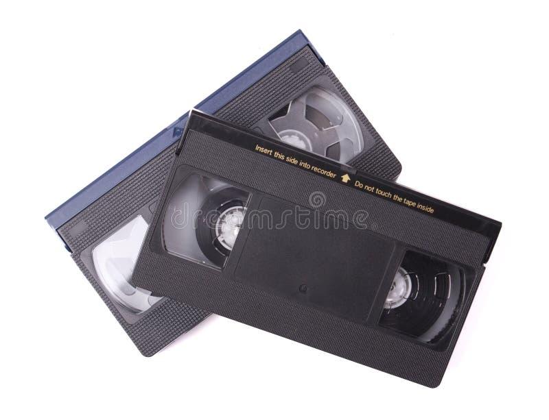 Fitas de VHS foto de stock
