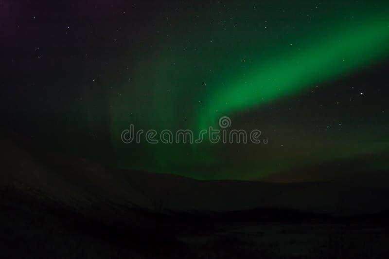 Fitas do polaris da Aurora imagens de stock