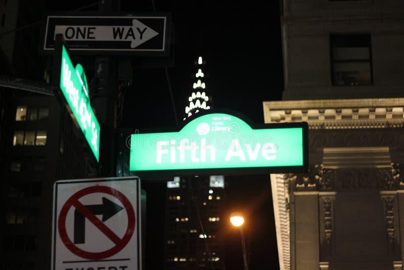 Fith Ave obraz royalty free