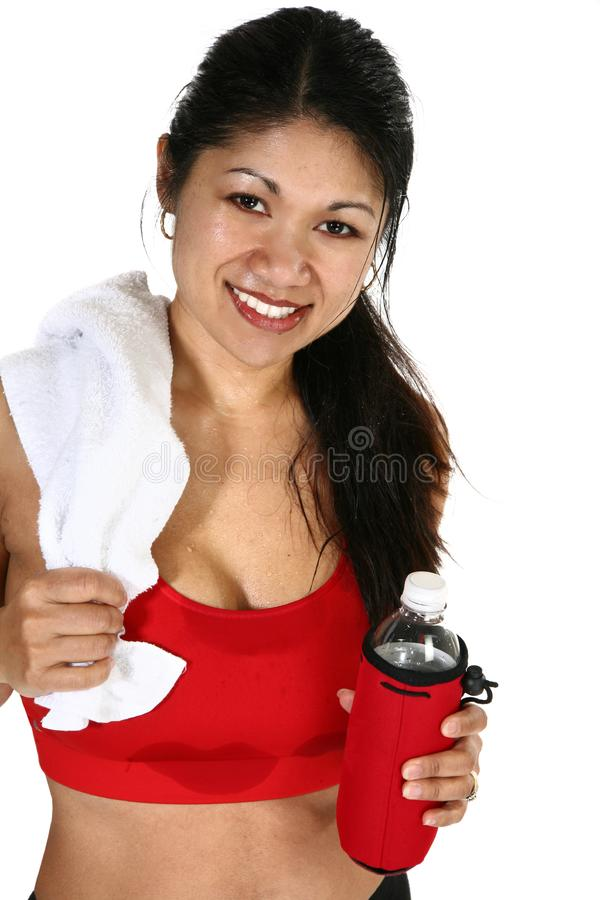 Download Fitness Attractive Filipino  Woman Stock Photo - Image of smiling, fitness: 17544802