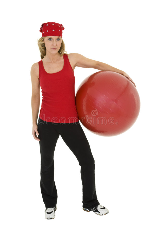 Fitness Ball stock image