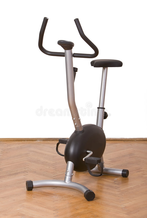 Fitness bicycle royalty free stock image