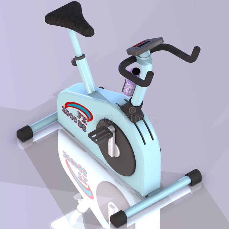 Fitness bike stock image