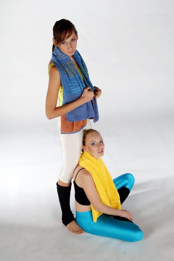 Fitness break royalty free stock images