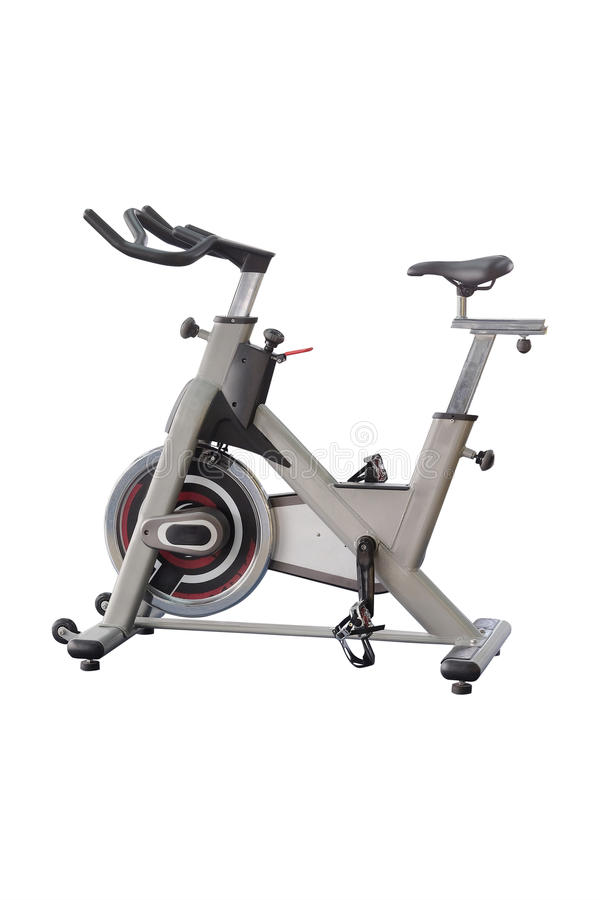 Fitness bycicles royalty free stock photos