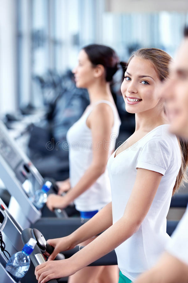 Fitness center royalty free stock photos