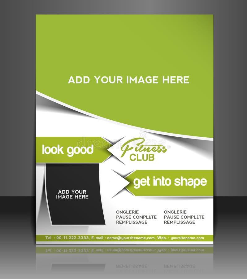 Free Fitness Center Flyer Design Stock Photos - 40489283