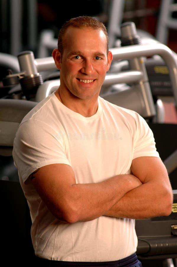 Free Fitness Center Man Royalty Free Stock Photo - 679555