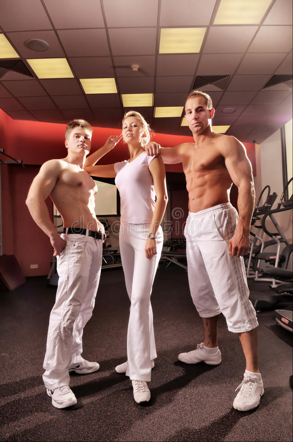 Download In fitness centre stock photo. Image of figure, move - 15539342