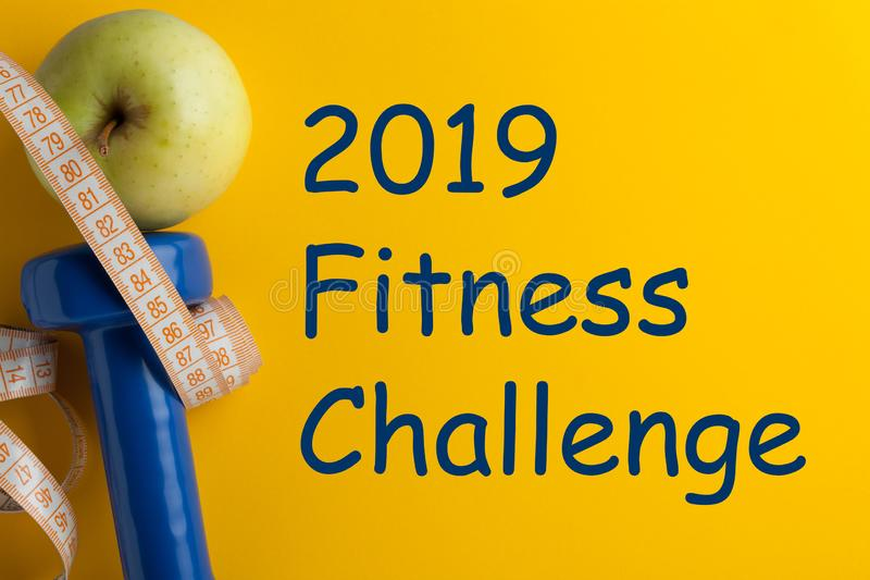 2019 Fitness Challenge stock images