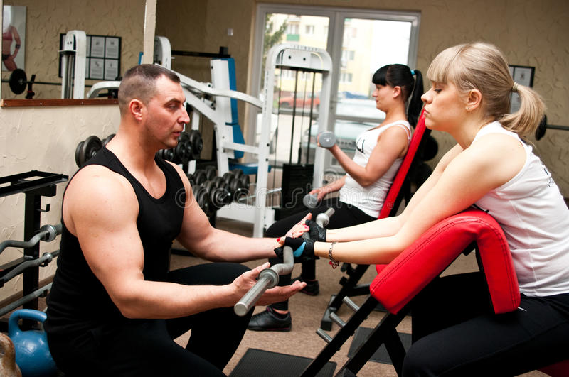 Fitness Club Stock Images