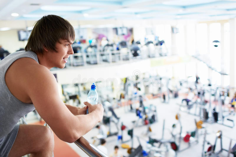 Download In The Fitness Club Royalty Free Stock Images - Image: 29435549