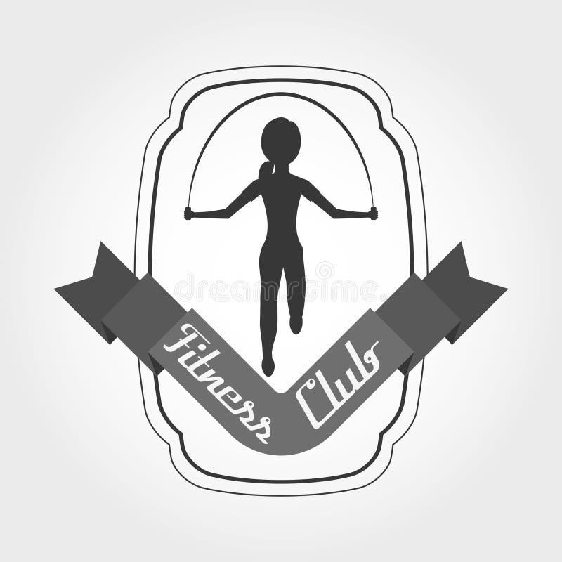 Fitness club design. Illustration eps10 graphic royalty free illustration
