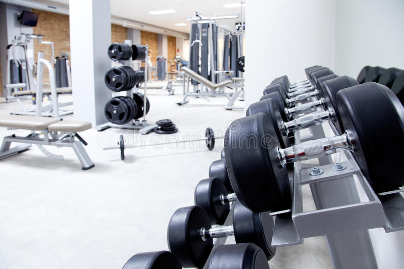 Download Fitness Club Weight Training Equipment Gym Stock Photo - Image: 22840232