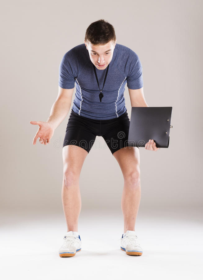 Fitness Coach Royalty Free Stock Images