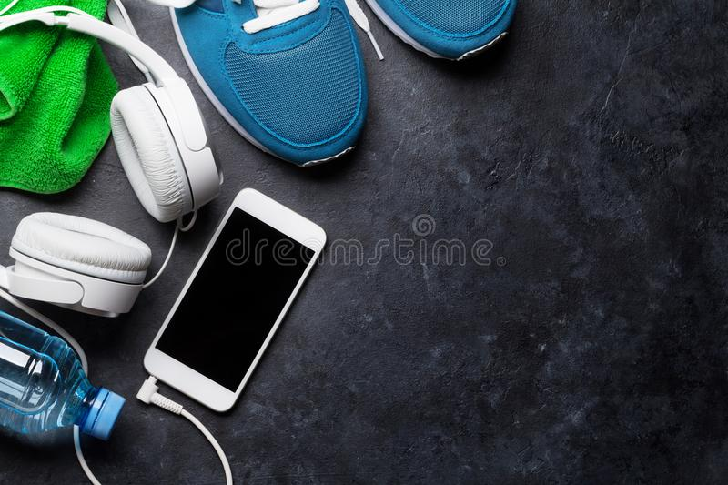 Fitness concept background stock photography