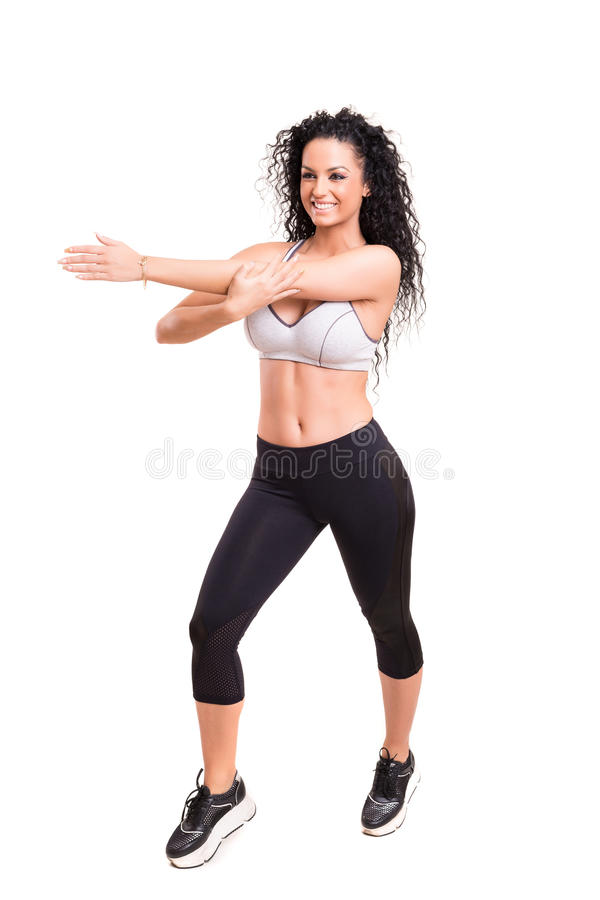 Fitness concept royalty free stock photo