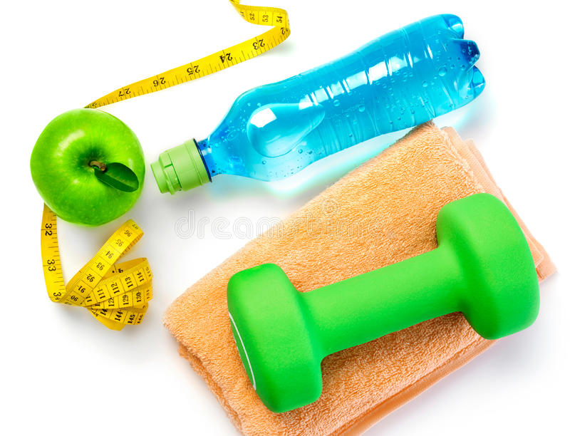 Fitness concept stock photos