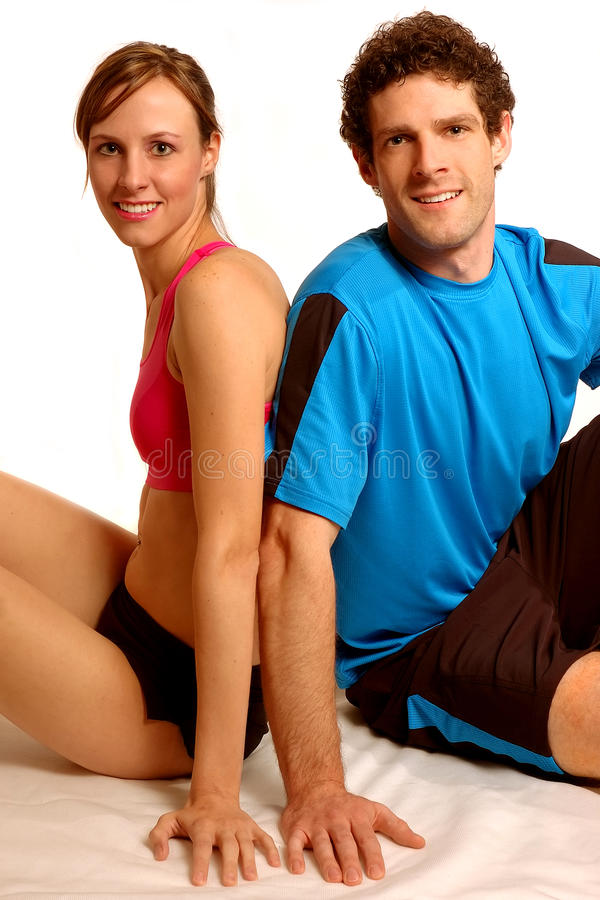 Download Fitness couple stock photo. Image of look, happy, female - 10750778