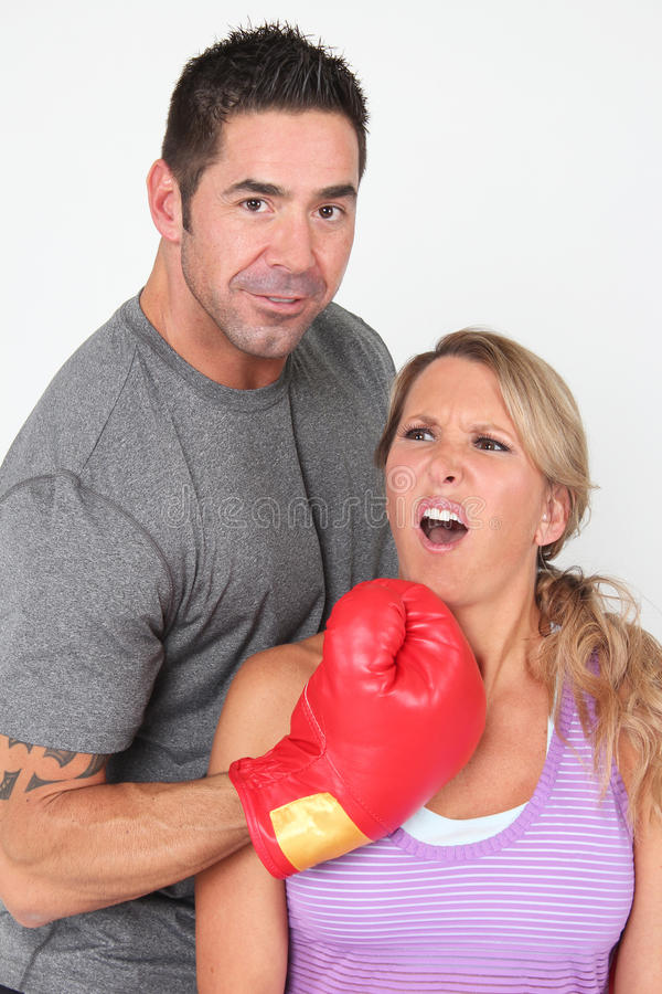 Download Fitness Couple stock photo. Image of competition, lady - 27307592