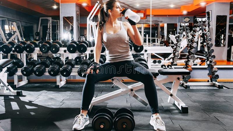 Fitness: creazione di un atleta per l'atleta immagini stock