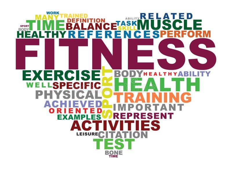fitness royalty free illustration