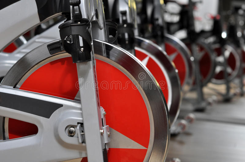 Fitness Cycle Wheel Royalty Free Stock Photography