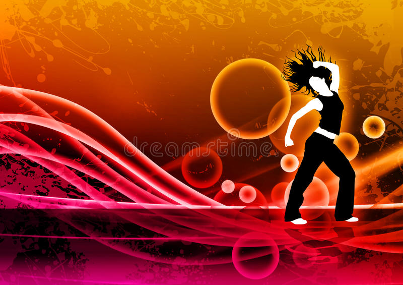 Fitness dance royalty free stock image