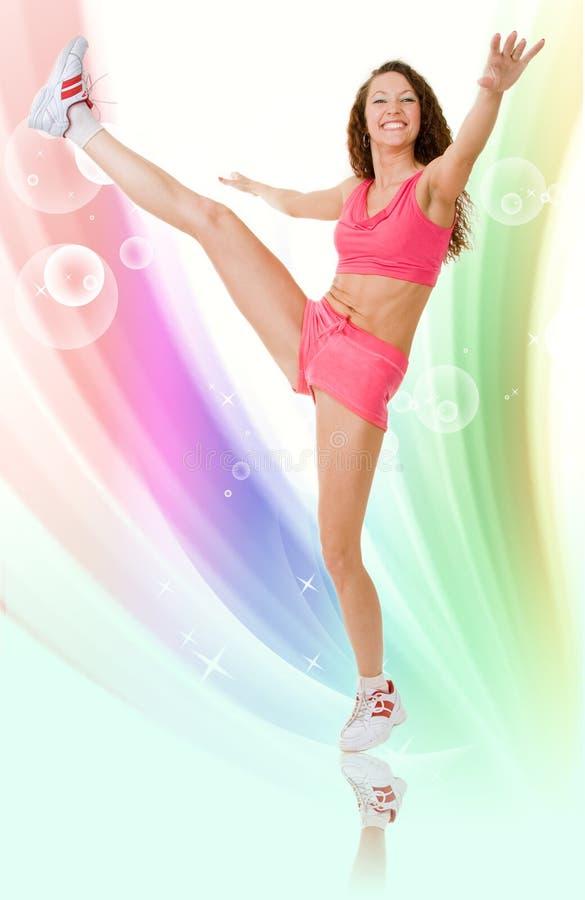 Fitness design royalty free stock photos
