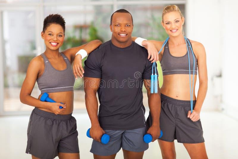 Fitness diversity people stock photos
