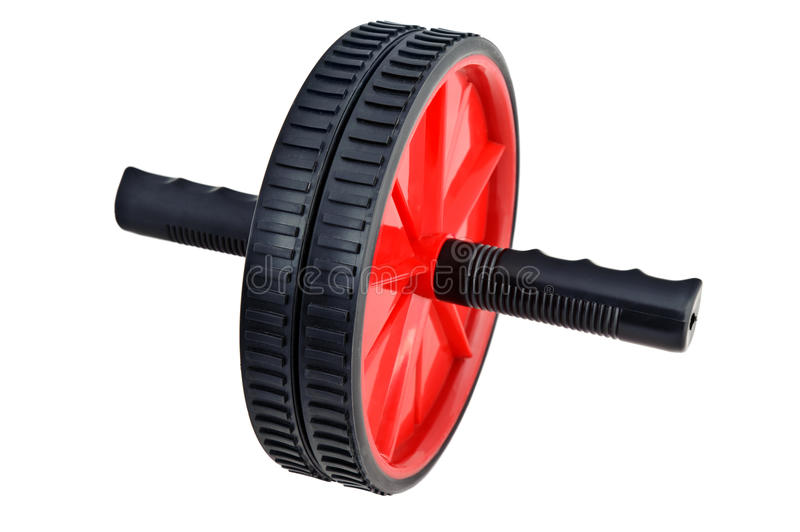 Fitness Exercise Roller isolated stock images