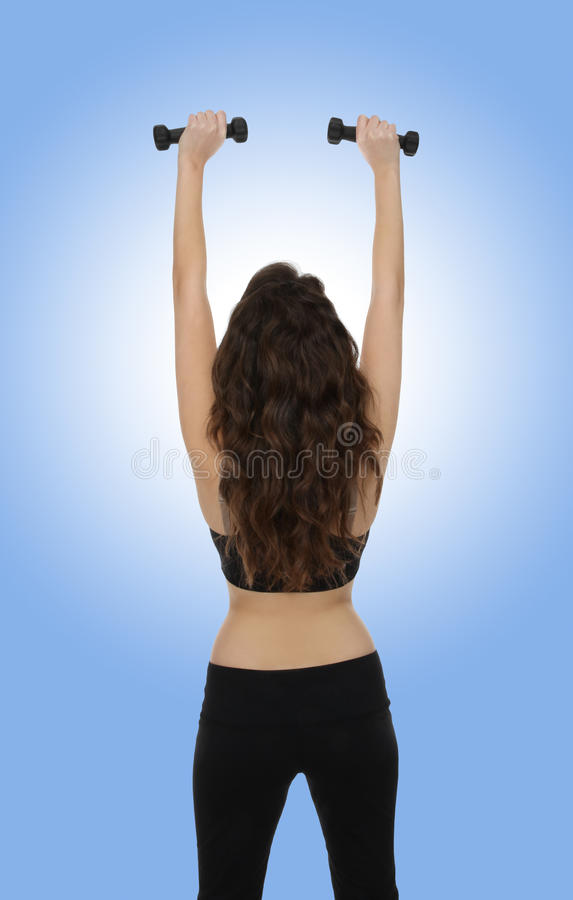 Fitness Exercise Woman royalty free stock photo