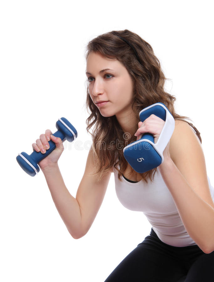 Fitness Exercise Woman royalty free stock images