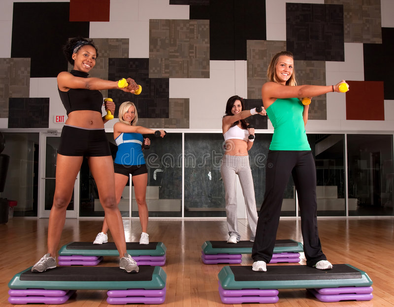 Download Fitness Friends Stock Photo - Image: 9228170