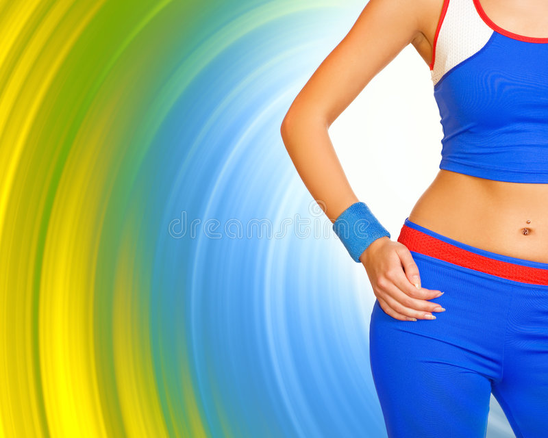 Download Fitness gir's body stock image. Image of skin, girl, abstract - 2398993