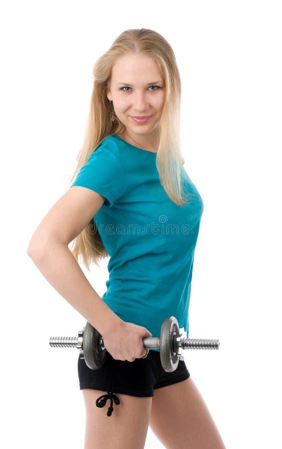Fitness Girl stock photo