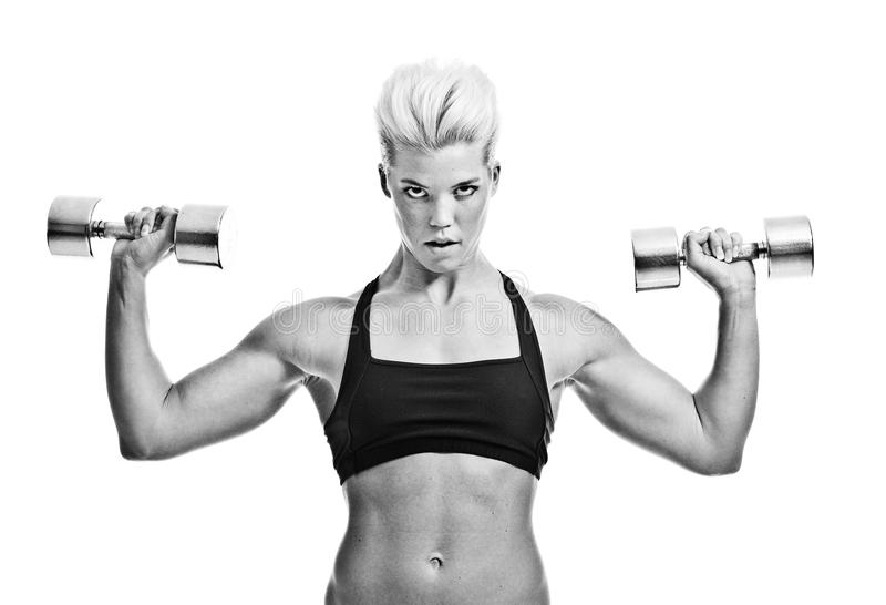 Download Fitness girl stock photo. Image of muscle, healthy, lifestyle - 22162048