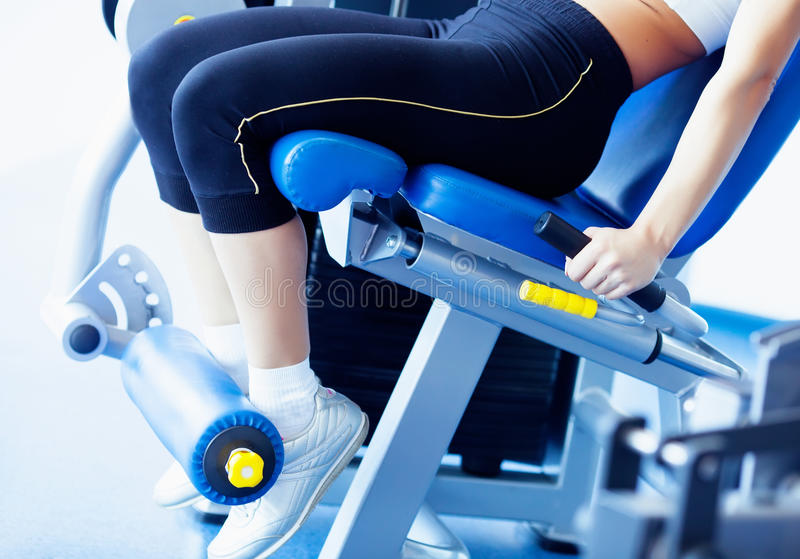 Download Fitness girl stock image. Image of girl, sweat, active - 24094115