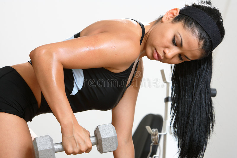 Fitness Girl royalty free stock photo