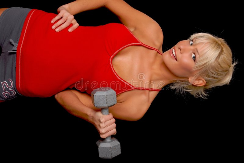Download Fitness Girl Royalty Free Stock Photos - Image: 4686248