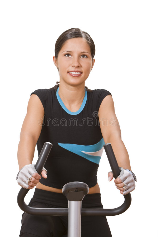 Download Fitness girl stock photo. Image of face, aerobics, pace - 5540198