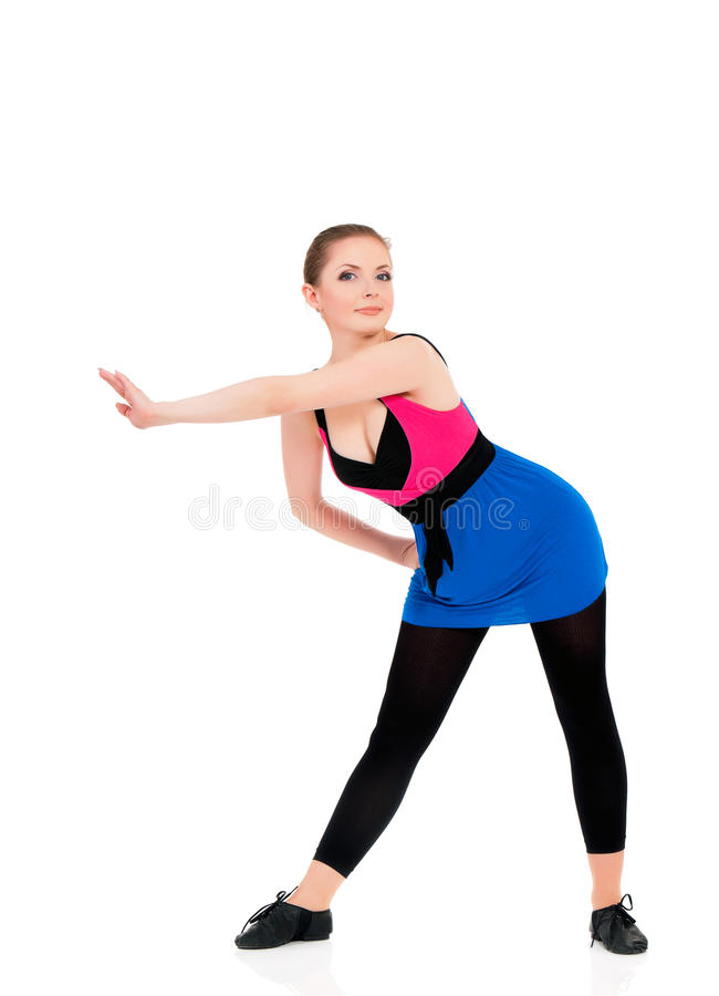 Download Fitness girl stock photo. Image of rear, lifestyle, fitness - 43344142