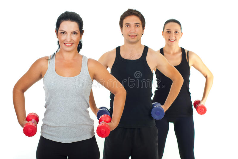 Fitness Group Of People Royalty Free Stock Photography