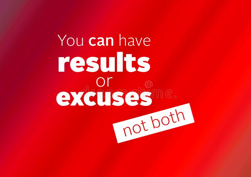 Fitness and gym motivation quote royalty free stock images