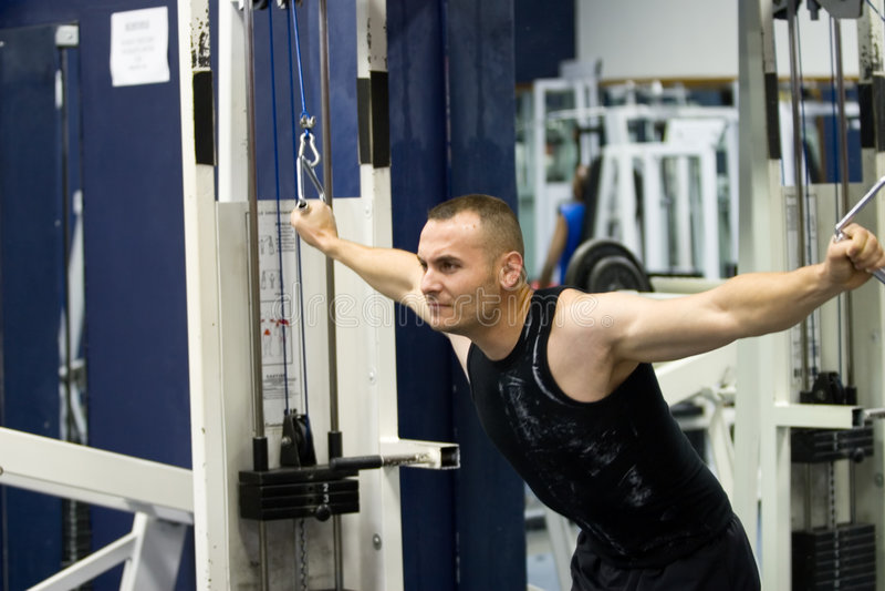 fitness gym training royalty free stock image
