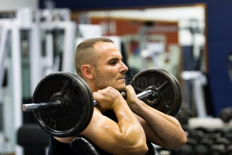 fitness gym training royalty free stock photo