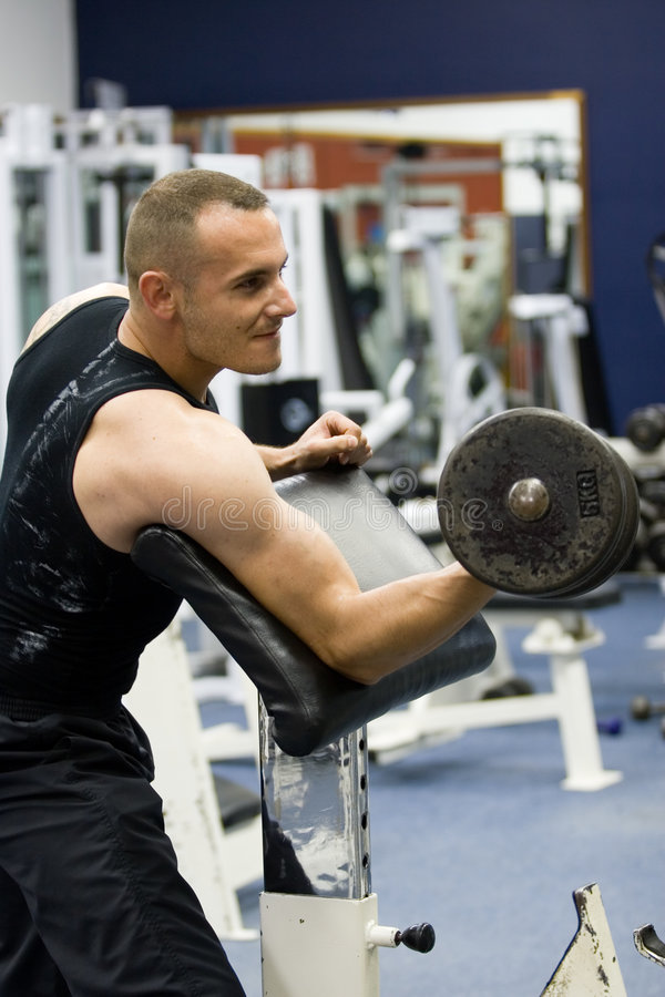 Free Fitness Gym Training Stock Photography - 919172